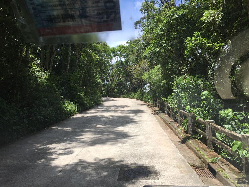 La montée pour le Corcovado à Rio