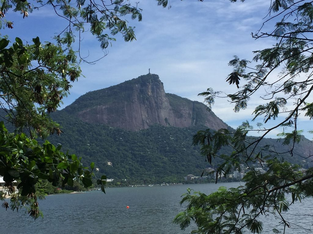 Vue sur le Corcovado à Rio