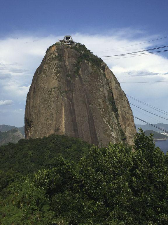 Le pain de sucre à Rio