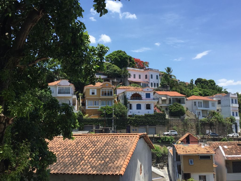 Vue sur le quartier de Santa Théresa