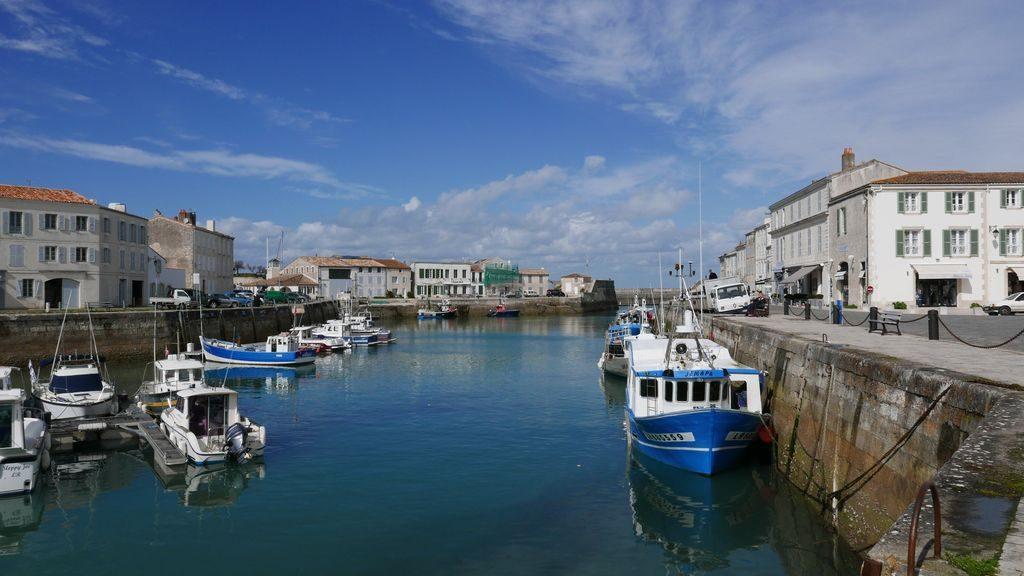 port de Saint Martin en Ré