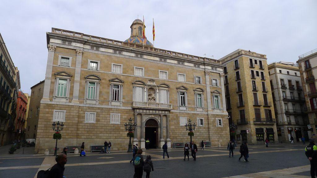 Le palais de la Généralité de Catalogne