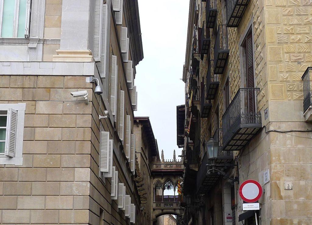 passage dans le quartier gothique