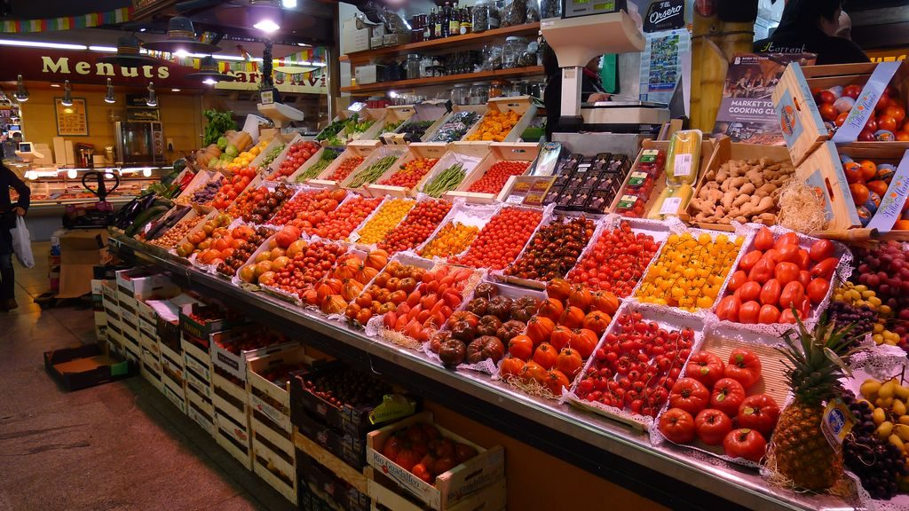 étal de tomates