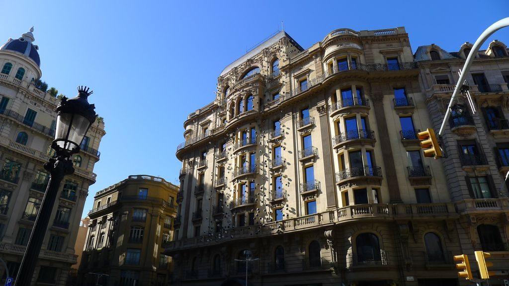 immeuble dans Barcelone