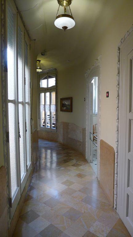détail d'un couloir de la casa Mila