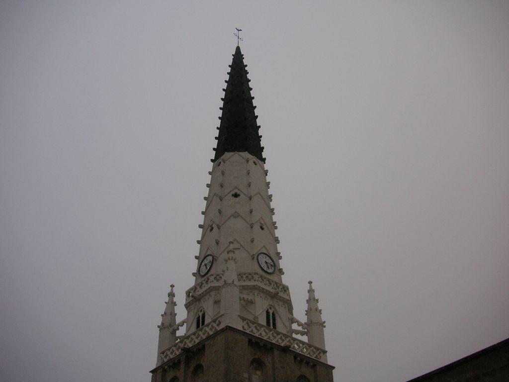 Amer du clocher de l'église de Ars en Ré