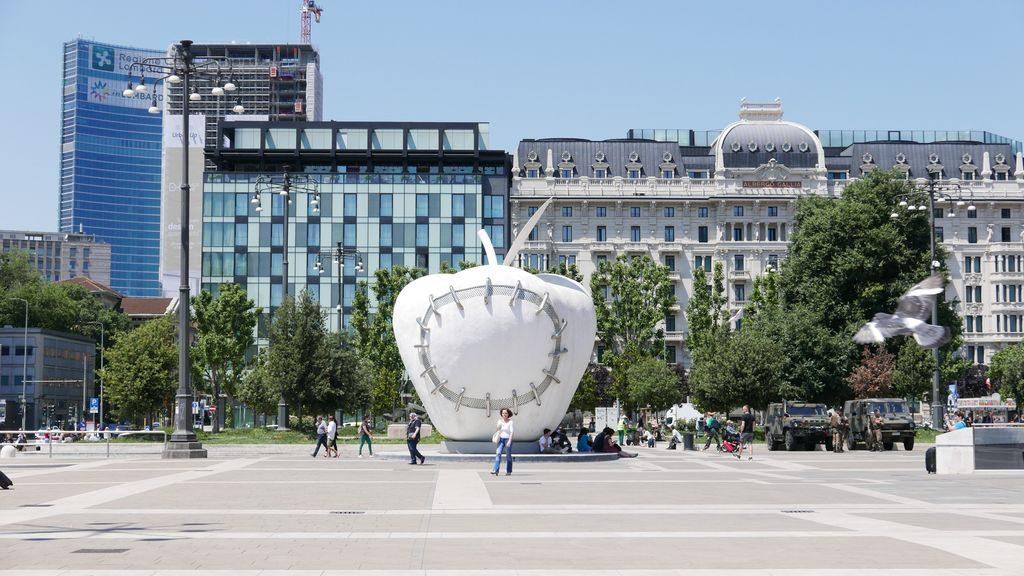 La mela reintegrata de Michelangelo Pistoletto