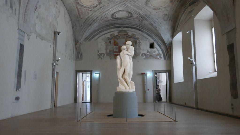 La Pietà Rondanini de Michel Ange à Sforza