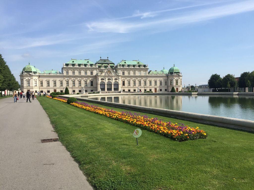 Le belvédère à Vienne