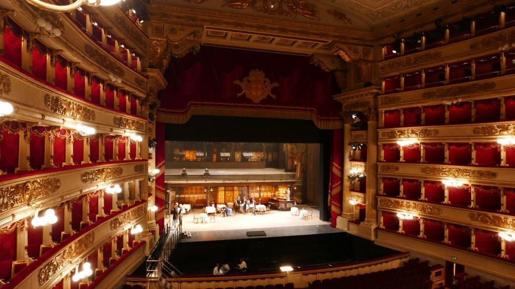 La scène de la Scala