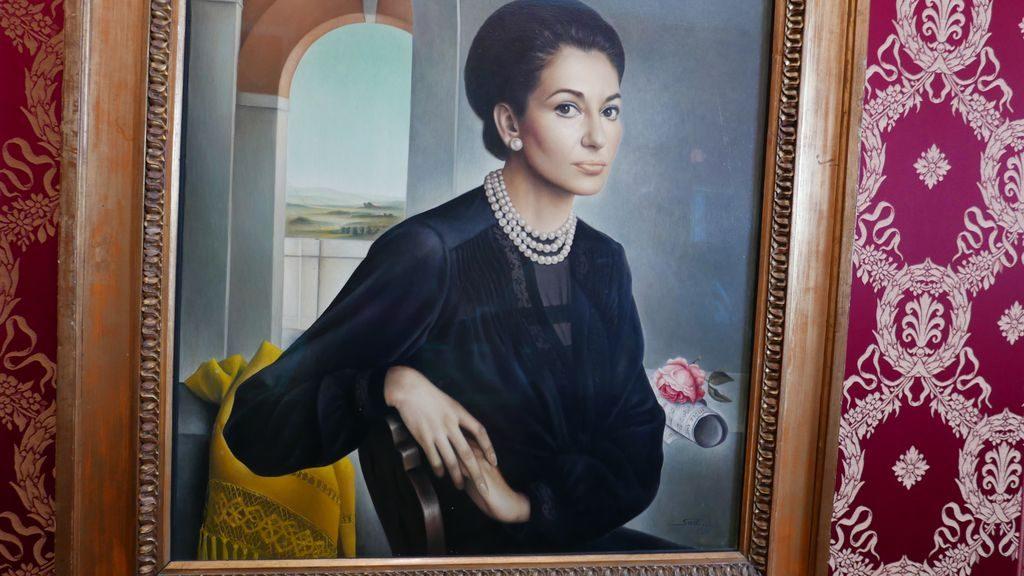Portrait de la Callas