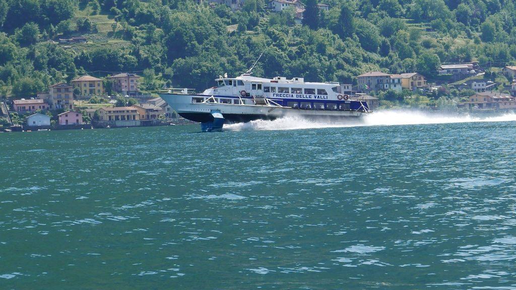 La navette rapide sur le Lac de Côme