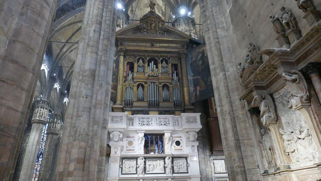 L'orgue du DUomo à Milan