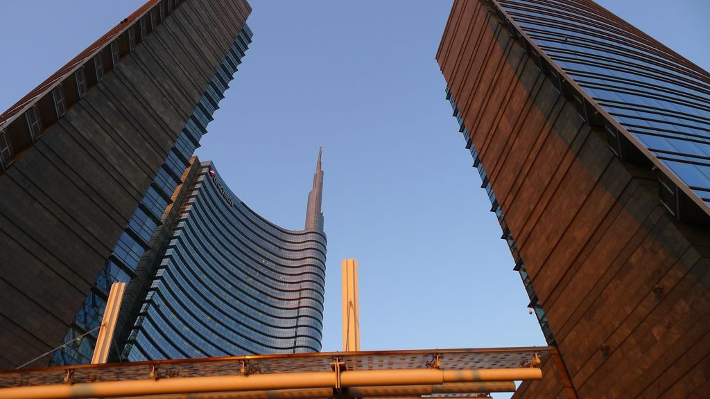 La tour Unicredit à Milan