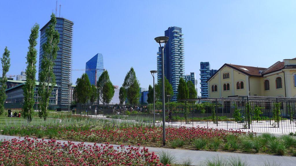 Visage du milan moderne à Milan