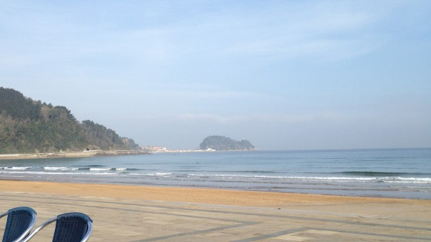 la plage de Gétaria