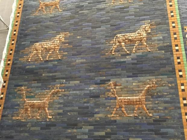 mur de la porte d'Ishtar