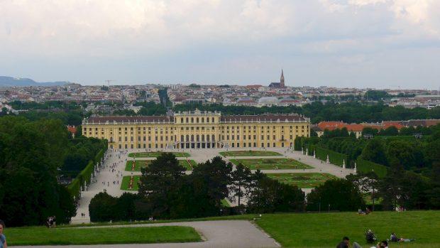 Schonbrunn vu de la Gloriette