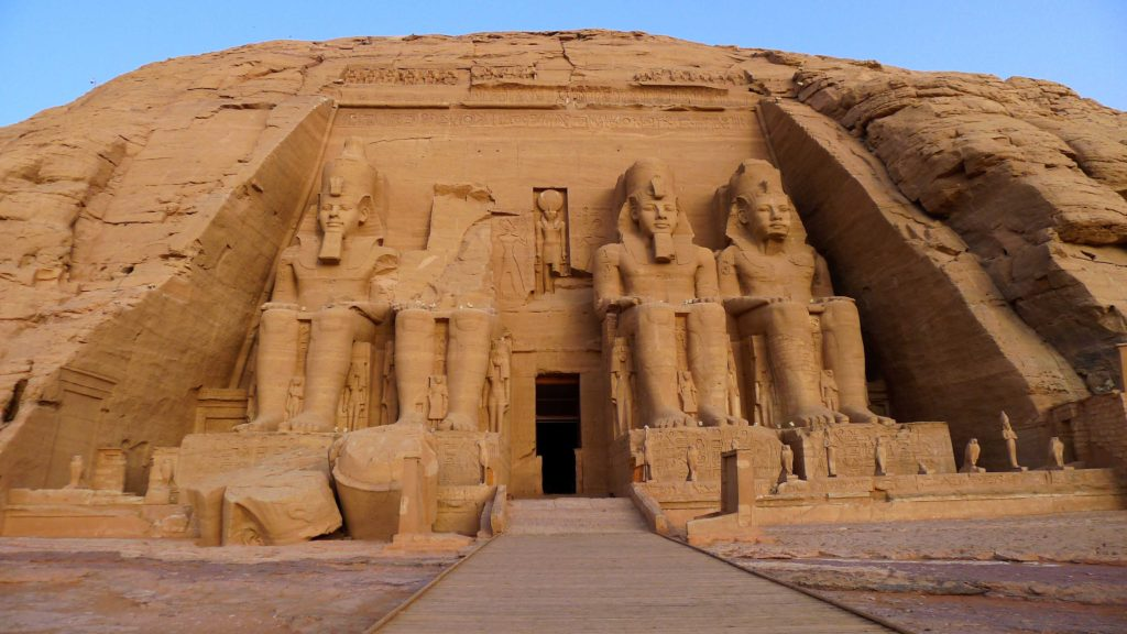 photo du Temple de Ramses II à Abu Simbel