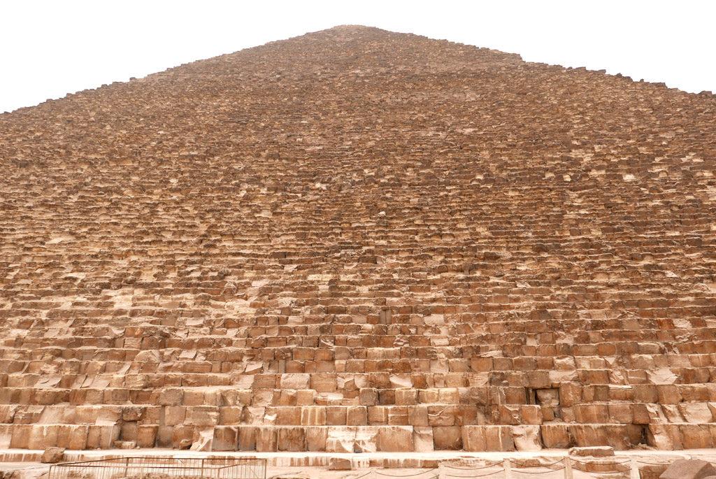 blocs de pierres de la pyramide de kheops