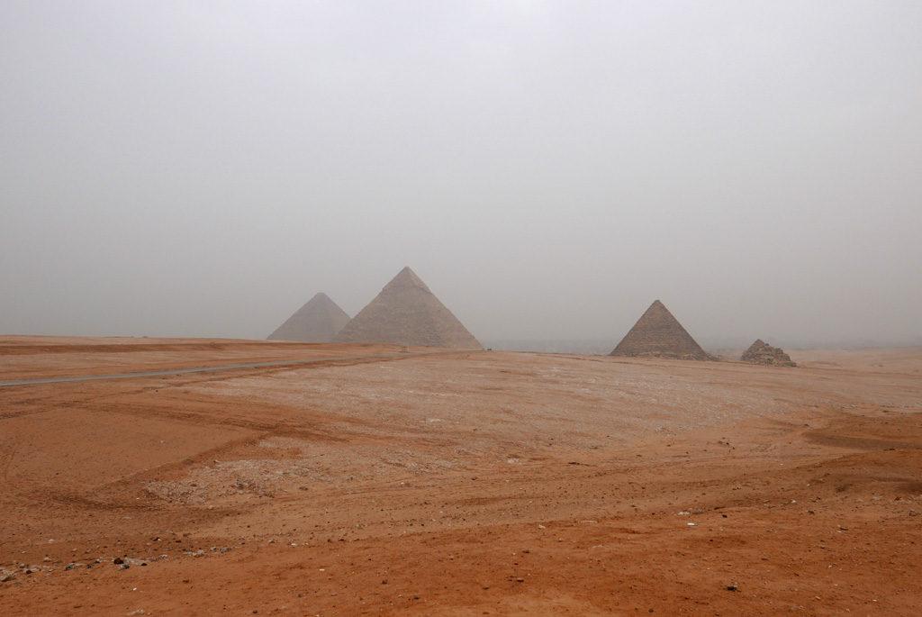 Plateau de Gizeh et les pyramides